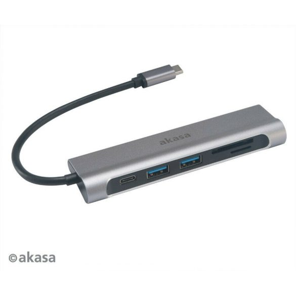 Akasa USB 3.1 Type-C 6-In-1 Dock AK-CBCA14-18BK