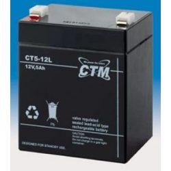APC 5/12 5 Ah 12V zselés akkumulátor
