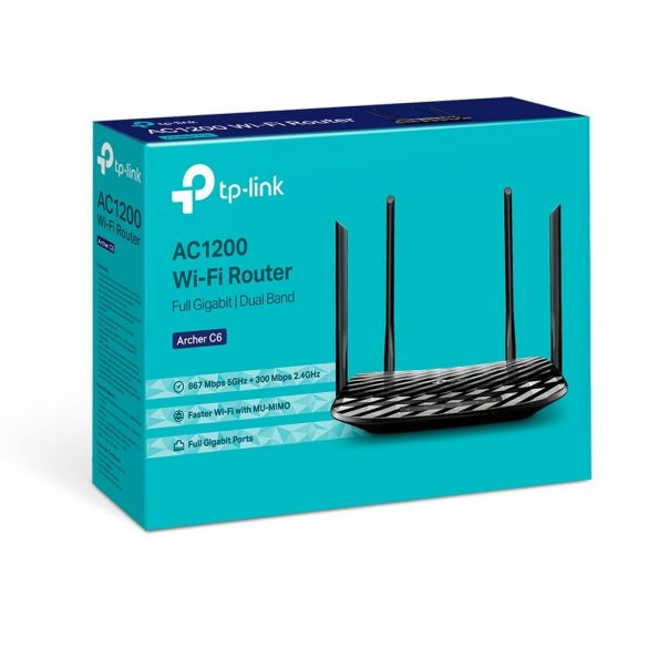 TP-Link Archer C6U AC1200 Dual Band wifi router