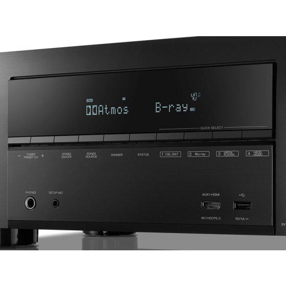 Denon AVR-X2600HBKE2 7.2 4k AV rádióerősítő BT/Wi-Fi