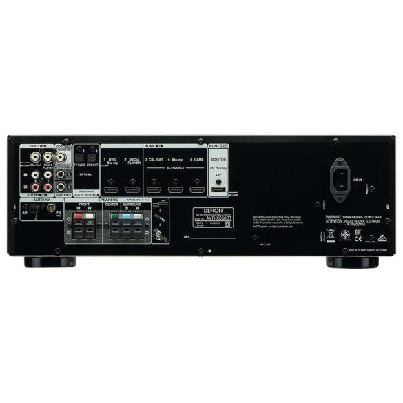 Denon AVR-X550BT 5.2 házimozi rádióerősítő