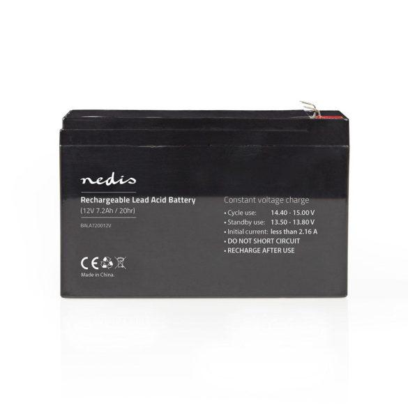 Nedis BALA720012V akkumulátor 12V 7,2Ah