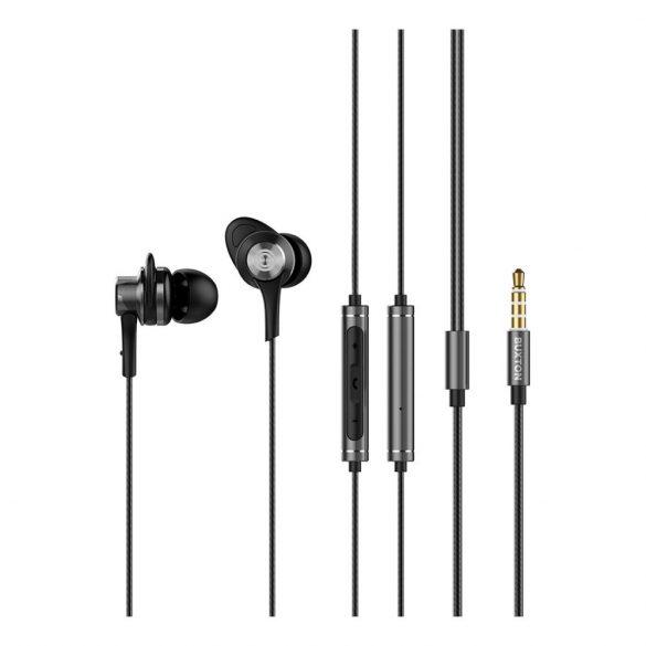 Buxton BHP-5070 fülhallgató, fekete-ezüst