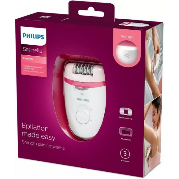 Philips BRE255/00 epilátor Opti-light