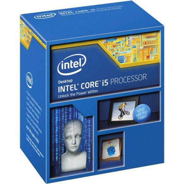 Intel QuadCore i5-4590 3,3GHz LGA1150 processzor BOX
