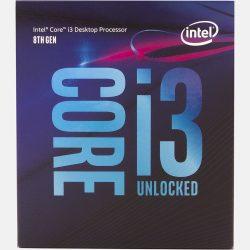 Intel i3-8100 3,6GHz LGA1151 BOX processzor