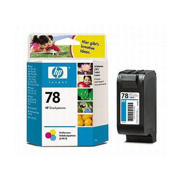 HP C6578DE ( 78 ) színes tintapatron