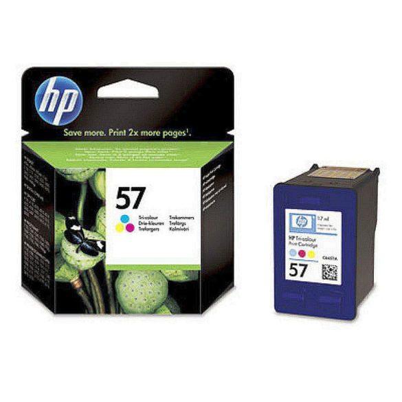 HP C6657GE BA5 (57) tintapatron színes