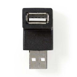 Nedis CCGP60930BK 90°-os USB adapter