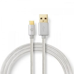 Nedis CCTB60600AL30 USB-A - USB-C kábel, 3m