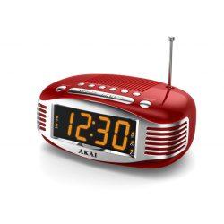 Akai CE1500 RED órás rádió