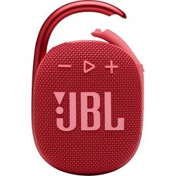 JBL Clip 4 Bluetooth hangszóró, piros
