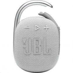 JBL Clip 4 Bluetooth hangszóró, fehér