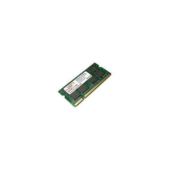 CSX CSXO-D2-SO-533-2RX8 2GB 533MHz DDR2 notebook memória