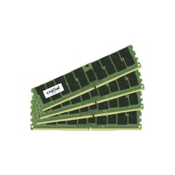 Crucial 64GB DDR4 KIT (16GBX4) 21 CL15 DRX4 ECC RDIMM 288PI