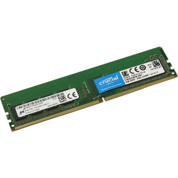 Crucial CT8G4DFS824A 8GB 2400 MHz DDR4 memória