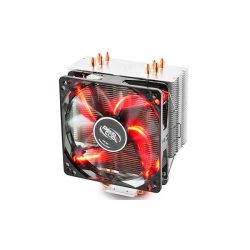DeepCool Gammax 400 Red LED CPU hűtő univerzális