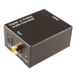 SAL DTA Audio Optikai-digitális koax - 2 RCA D/A konverter