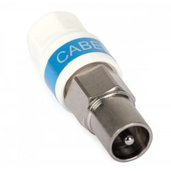 Cabelcon Koax (IEC) dugó RG6 kábelre