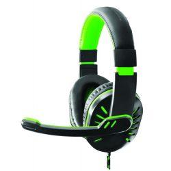 Esperanza Crow Green EGH330G Gamer fejhallgató