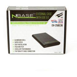 """nBase EH25BE3R 2,5"""" SATA USB3.0 külső hdd ház"""