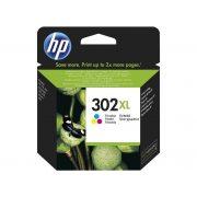 HP 302XL (F6U67AE) színes tintapatron