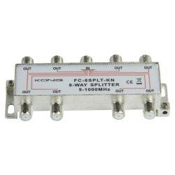 König FC-8SPLT-KN 8 utas splitter, 5-1000 MHz