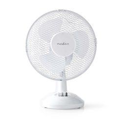 Nedis FNTB10CWT23 asztali ventilátor 23cm lapáttal