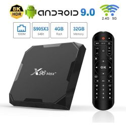 X96 Max+ 8K Android Media Player 4/94GB