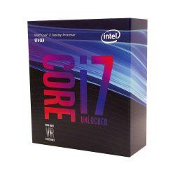 Intel Core i7-8700K processzor, 3,7GHz, 12MB Cache, LGA1151