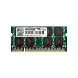 Transcend 1GB 800MHz DDR2 Notebook memória
