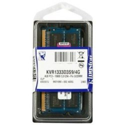 Kingston SO-DIMM 4GB 1333MHz DDR3 notebook memória