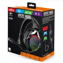 Spirit of Gamer Xpert H600 7.1 RGB gamer fejhallgató