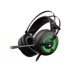 Rampage Miracle X2 Green 7.1 fejhallgató