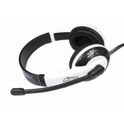 Media-Tech CURAE MT3565 mikrofonos fejhallgató