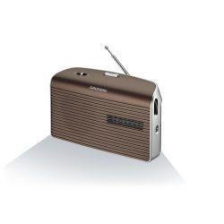 Grundig Music 60B hordozható rádió barna