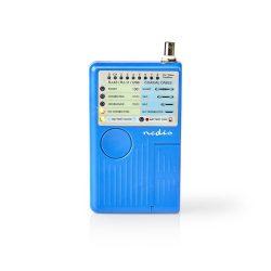 Nedis NWCTM100BU RJ45, RJ11, BNC és USB kábelteszter