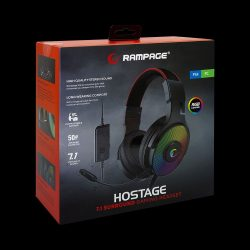Rampage R46 Hostage 7.1 fejhallgató