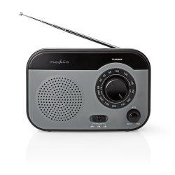 Nedis RDFM1340GY hordozható FM rádió