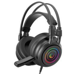 Rampage RM-K2 X-QUADRO RGB 7.1 gamer fejhallgató