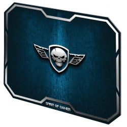 Spirit of Gamer Winged Skull Blue egérpad