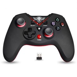 Spirit Of Gamer XGP vezeték nélküli piros kontroller PC/PS3