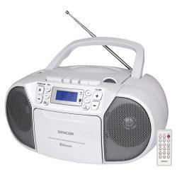 Sencor SPT3907W kazettás rádió CD, Bluetooth, Mp3, USB, Aux