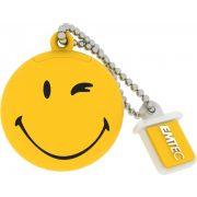 Emtec SW100 8G 8GB USB2.0 Smiley Yellow pendrive