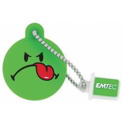 Emtec SW105 8G 8GB USB2.0 Smiley Green pendrive