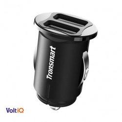Tronsmart C24 VoltiQ Dual autós töltő 2xUSB 4,8A 24W