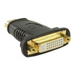 ValueLine VLCP34910B HDMI dugó - DVI alj adapter