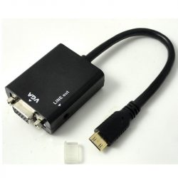 ValueLine VLMP34900W020 HDMI - VGA+3,5mm jack audio adapter
