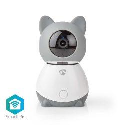 Nedis WIFICI30CGY FullHD Wi-Fi Smart IP PT kamera