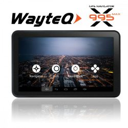 """Wayteq x995 Max 7"""" autós navigációs készülék"""